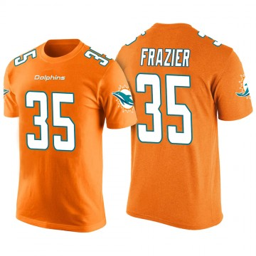 Men's Kavon Frazier Miami Dolphins Orange Color Rush Legend T-Shirt