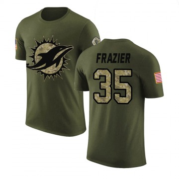 Youth Kavon Frazier Miami Dolphins Olive Salute to Service Legend T-Shirt